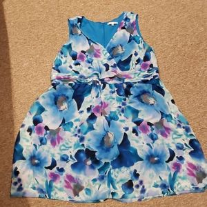Tank top flower dress - light weight